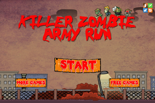 Zombies Army Battle Run Wars 2