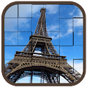 Jigsaw Places Tourism Puzzle icon