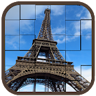 Places Tourism Tile Puzzle icon