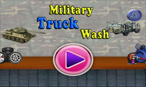 Military Truck Wash