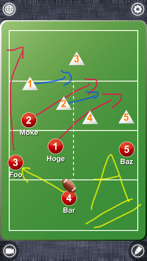 FlagFootball Board - screenshot