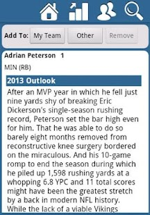 Fantasy Football Draft Kit '13 - screenshot thumbnail
