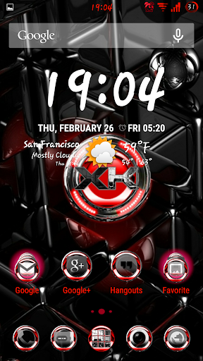 CM12-XKrome Ruby