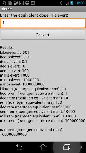 【免費工具App】Equivalent dose converter-APP點子