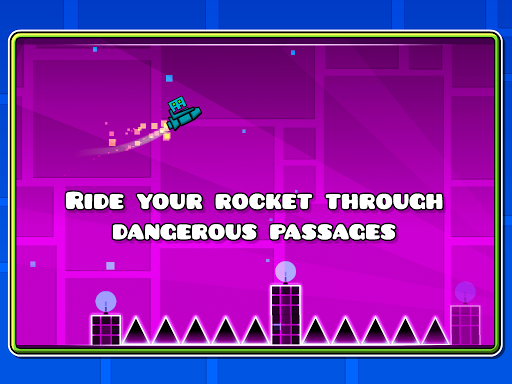 Gry Geometry Dash Lite (apk) za darmo do pobrania dla Androida / PC/Windows screenshot