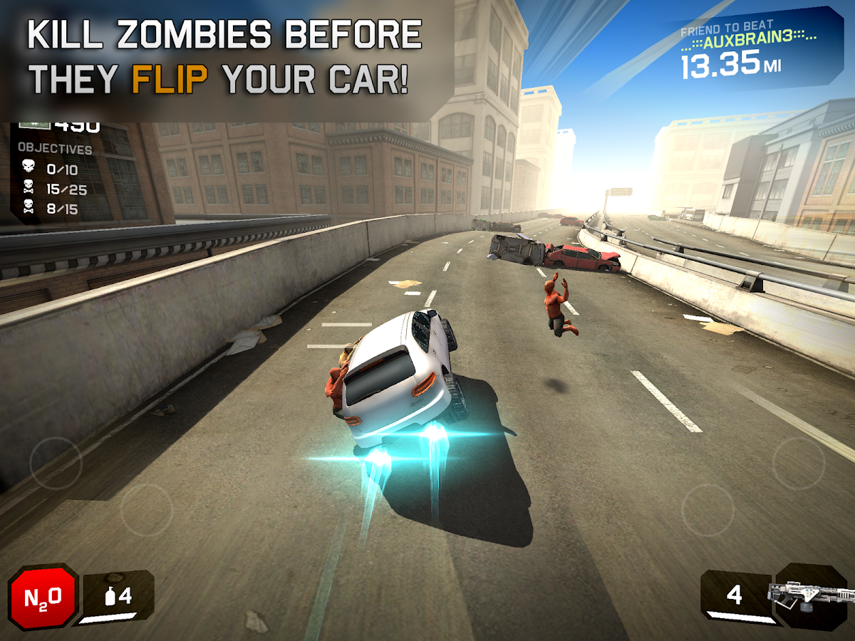 Zombie Highway 2- screenshot