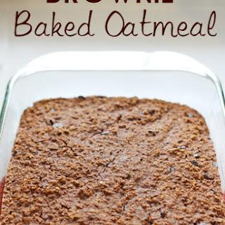 Brownie Baked Oatmeal