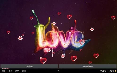 愛情 動態壁紙