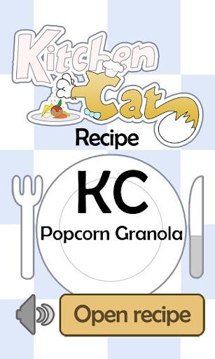 KC Popcorn Granola