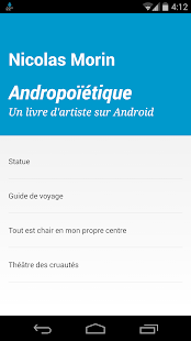 Andropoïétique- screenshot thumbnail