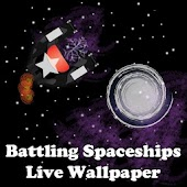 Spaceships Live Wallpaper