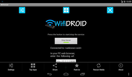 WifiDroid - Wifi File Transfer v1.2.1