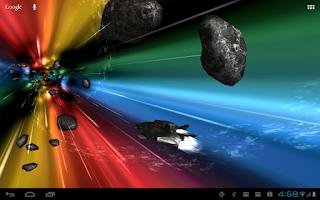 Screenshot of Jumpgate Live Wallpaper
