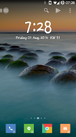 Screenshot of Minimalistic Text: Widgets