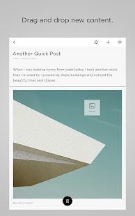 Squarespace Blog- screenshot thumbnail