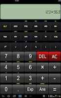 Screenshot of Scientific Calculator - FREE