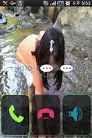Screenshot of Make Your Own Incoming call