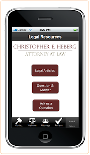 Attorney Christopher Heberg- screenshot thumbnail