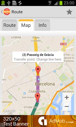 【免費交通運輸App】西班牙 地铁指南-APP點子