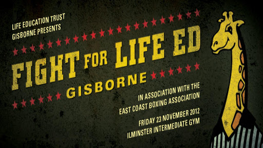 Fight for Life Ed Gisborne N.Z