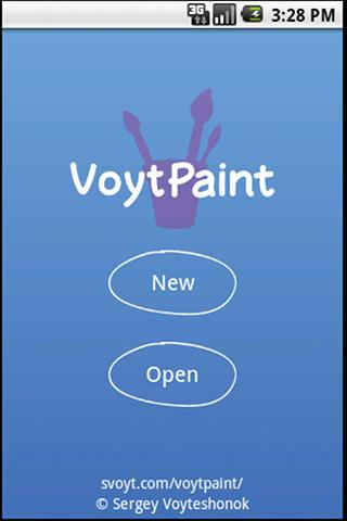 VoytPaint - screenshot