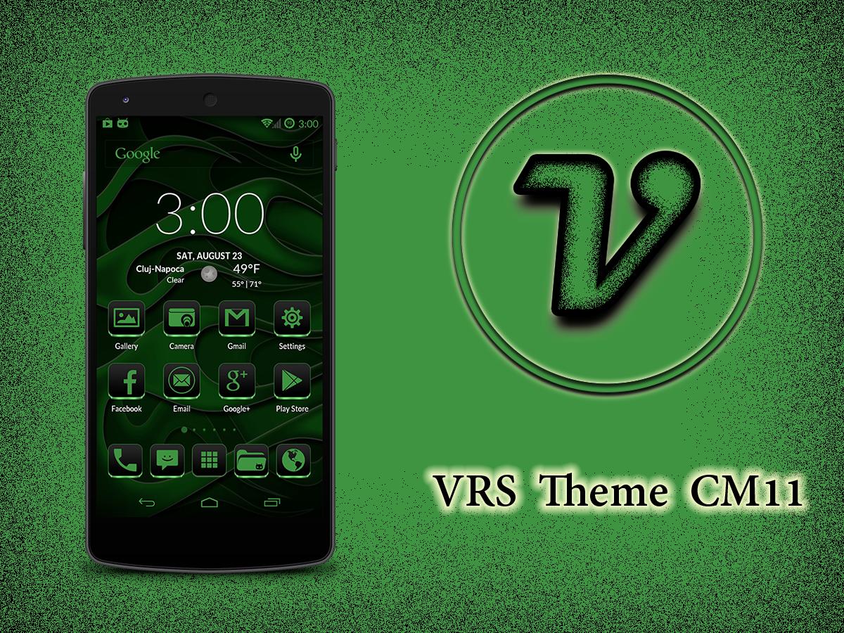 Green gmail theme - Vrs Green Theme Cm11 Screenshot
