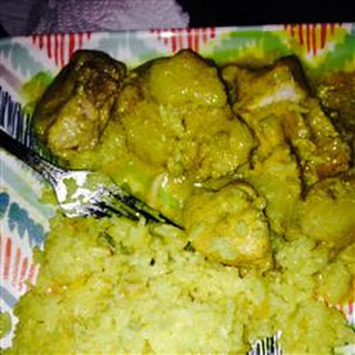 West Indian Curried Chicken