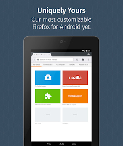 Firefox Browser for Android v29.0