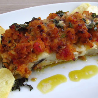 Cod In The Oven With Tomato And Maize Bread