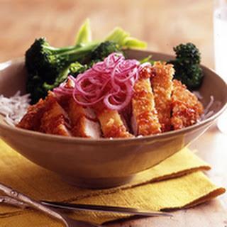 Sweet & Sour Pork Rice Bowl.