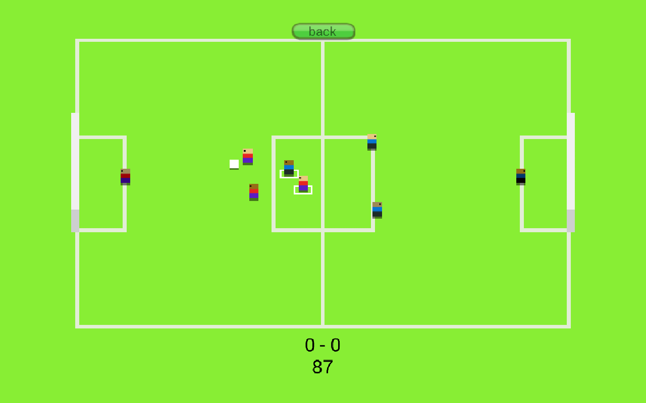 Super Pixel Soccer- screenshot
