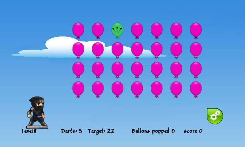 Balloon Ninja- screenshot