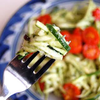 Zucchini Pasta.