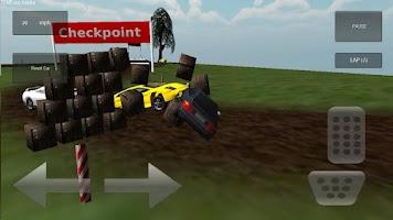 Screenshot of 3D Demolition Race