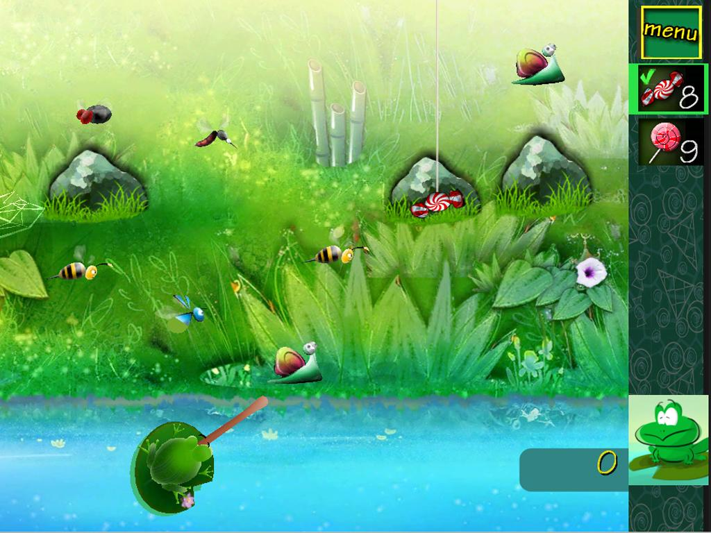 Hungry Hungry Frog 3- screenshot