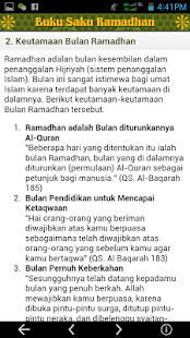 Buku Saku Ramadhan Screenshot