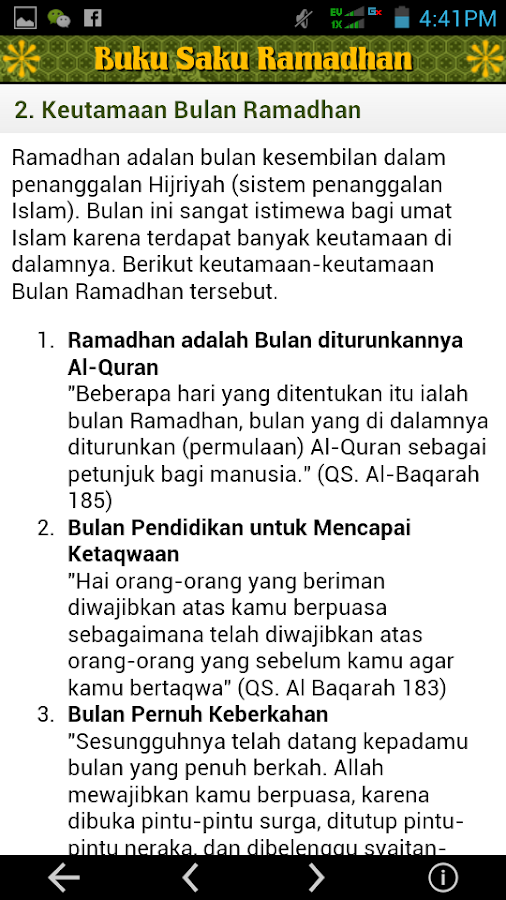 Buku Saku Ramadhan- screenshot