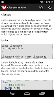 C++, Java Programs & Reference - screenshot thumbnail