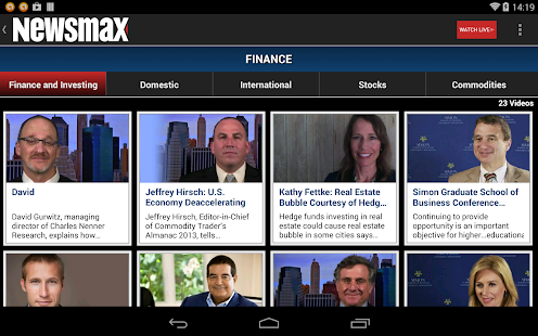 Newsmax TV & Web - screenshot thumbnail