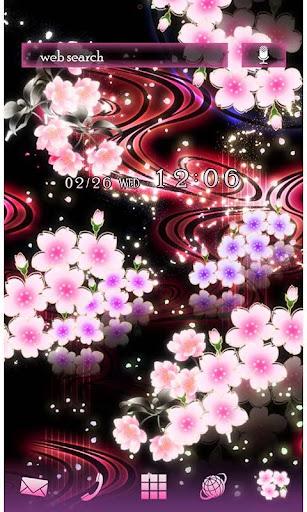 Cute Theme-Starry Sakura- 1.0 Windows u7528 1