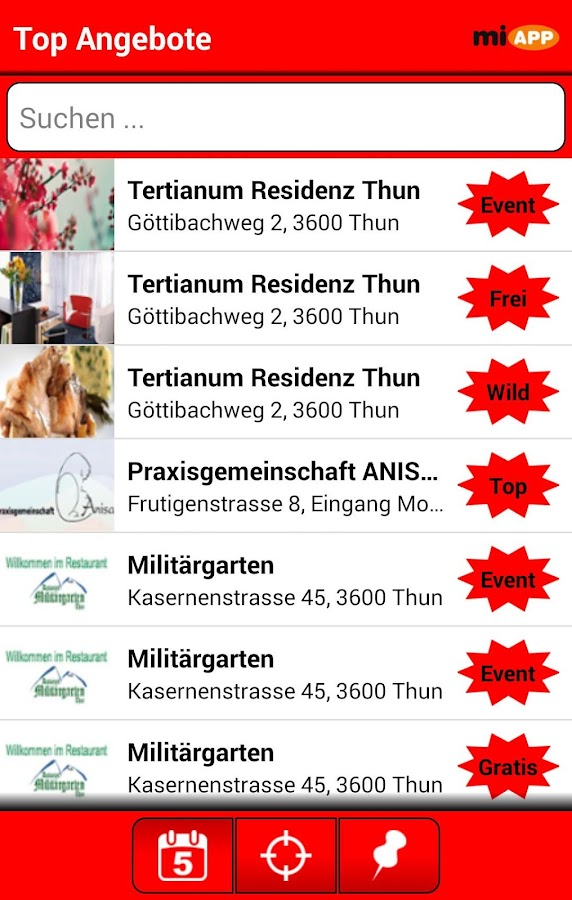 miAPP Thun- screenshot