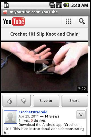 Crochet 101 - screenshot