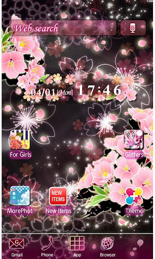 Cheery Blossom Mystic Theme 2.0.1 Windows u7528 1