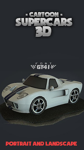 Toon Cars Ford GT40 3D lwp