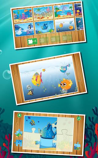Kids Ocean Fish Jigsaw Puzzle
