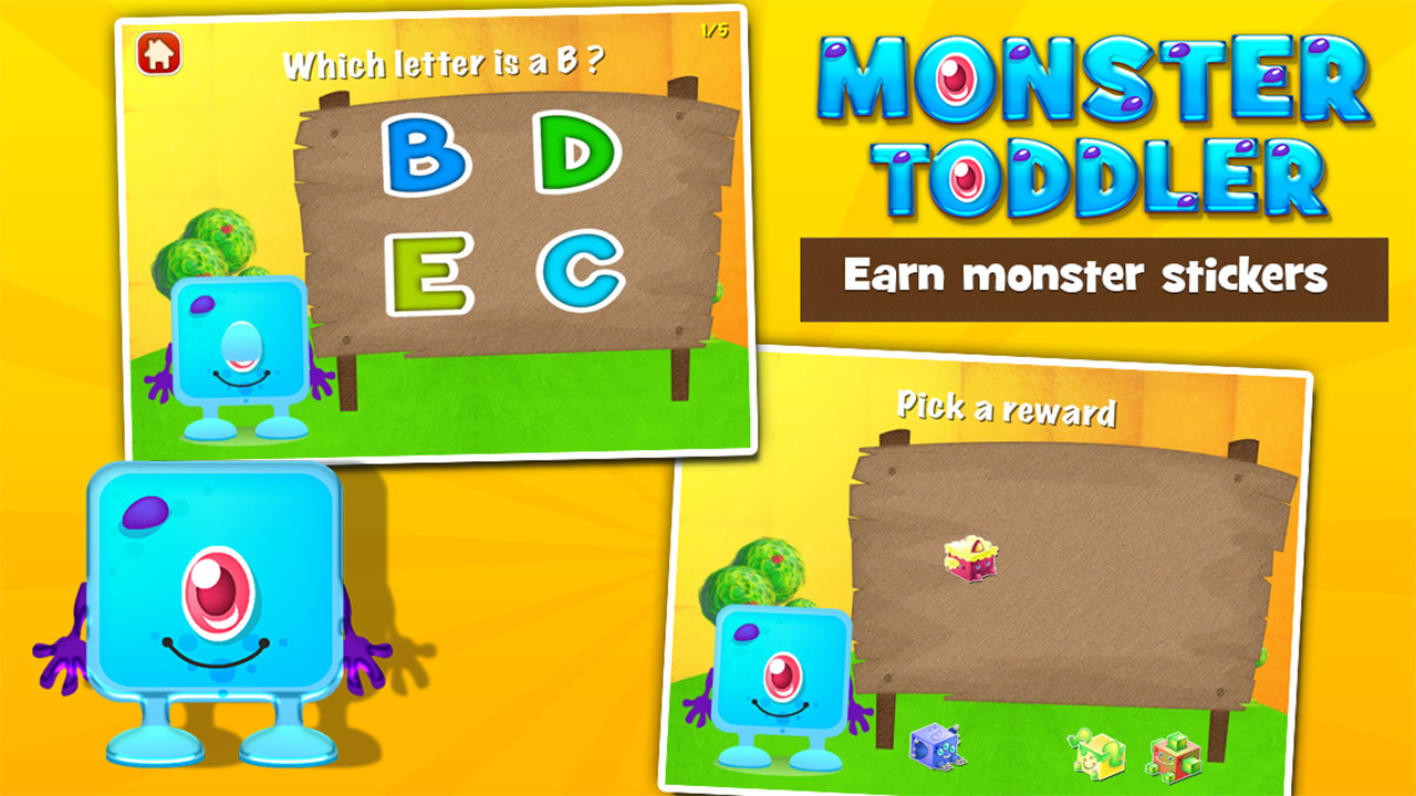 Monster Toddler Games Free- screenshot
