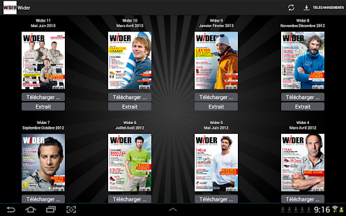 Wider Magazine- screenshot thumbnail