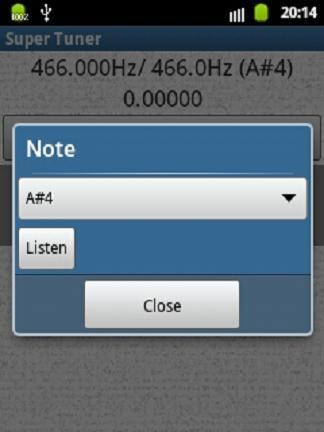 【免費音樂App】Super Tuner-APP點子