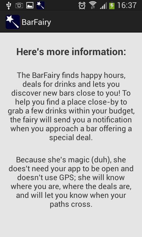 BarFairy- screenshot