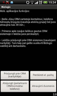 Bizlogic CRM- screenshot thumbnail